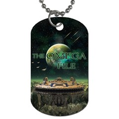 The Omega File Two Sided Dog Tag from Wordwide Merch Front