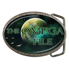 The Omega File Belt Buckle from Wordwide Merch Front