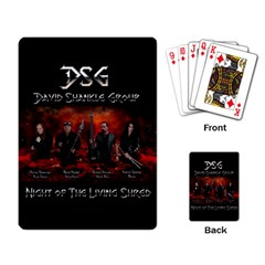 David Shankle Group Playing Cards 2 from Wordwide Merch Back