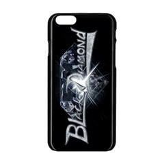 Black Diamond Apple iPhone 6 Black Enamel Case from Wordwide Merch Front