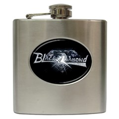 Black Diamond Hip Flask (6 oz) from Wordwide Merch Front