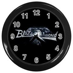 Black Diamond Wall Clock from Wordwide Merch Front