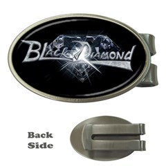 Black Diamond Money Clip (Oval) from Wordwide Merch Front