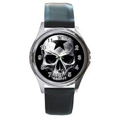 Unbreakable Round Metal Watch from Wordwide Merch Front