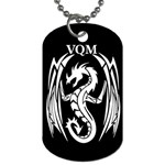 VQM Dog Tag (Two Sides) from Wordwide Merch Front
