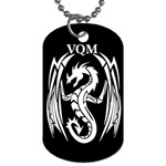 VQM Dog Tag (Two Sides) from Wordwide Merch Back