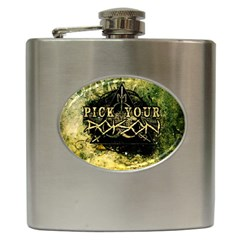 MiS_Flask Hip Flask (6 oz) from Wordwide Merch Front