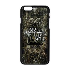 MiS Apple iPhone 6/6S Black Enamel Case from Wordwide Merch Front