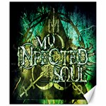my infected soul print Canvas 20  x 24